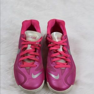 Woman's Nike hyperfuse shoes